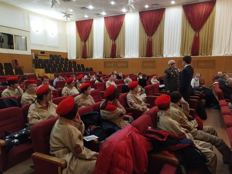 Встреча ветеранов Афганистана и юнармейцев Дзержинска